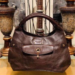 Kate Spade ♠️ Coffee Bean Brown Soft Leather Bag